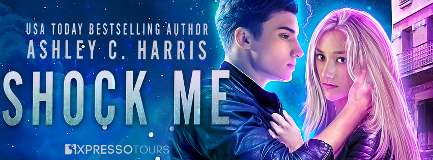Cover Reveal: Shock Me by Ashley C. Harris | Tour organized by XPresso Book Tours | www.angeleya.com