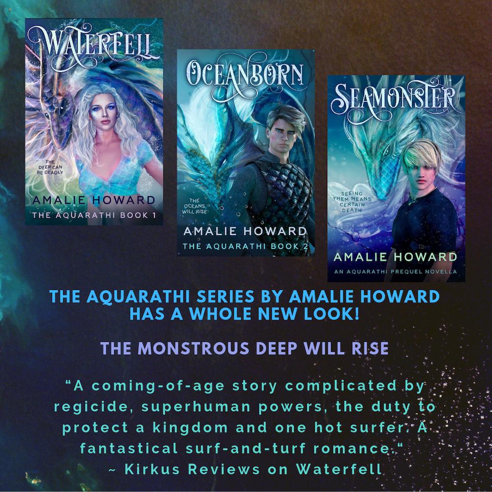 Aquarathi Series by Amalie Howard | Tour organized by XPresso Book Tours | www.angeleya.com