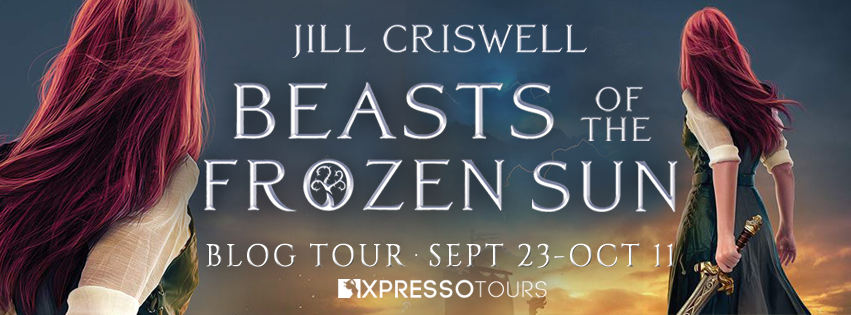Book Tour: Beasts of the Frozen Sun by Jill Criswell | Tour organized by XPresso Book Tours | www.angeleya.com
