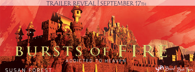 Book Trailer Tour: Bursts of Fire by Susan Forest | Tour organized by YA Bound | www.angeleya.com