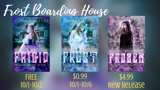 New Release + #BookDeals: Frozen by @_joanna_reeder