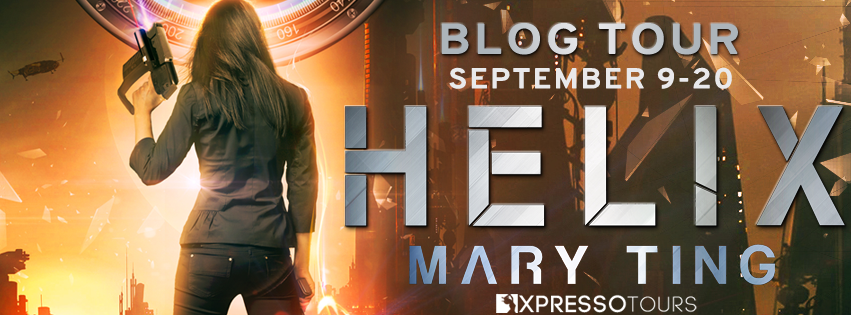 Book Tour: Helix by Mary Ting | Tour organized by XPresso Book Tours | www.angleya.com