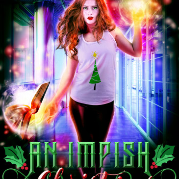 Cover Reveal: An Impish Christmas by @AngelLeya