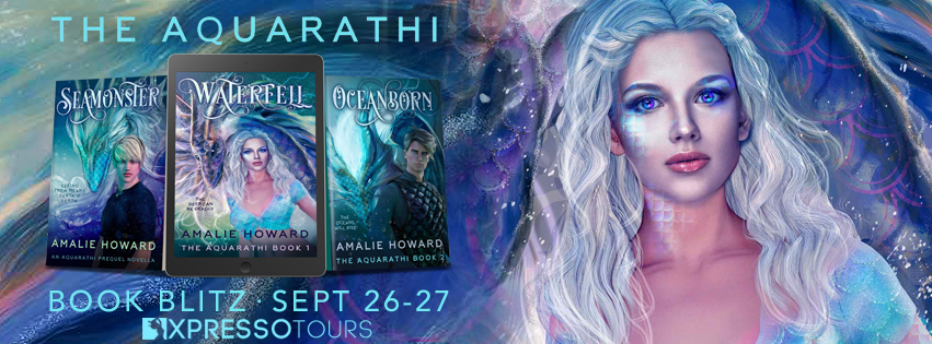 Book Blitz: Aquarathi Series by Amalie Howard | Tour organized by XPresso Book Tours | www.angeleya.com