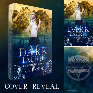 Cover Reveal: Dark Faerie by @stbende