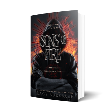Cover Reveal: Sons of Fire by @TracyAuerbach