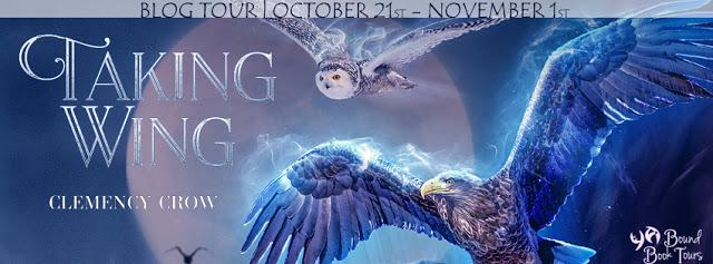 Blog Tour: Taking Wing by Clemency Crow | Tour organized by YA Bound | www.angeleya.com