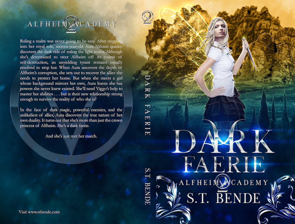 Full cover: Dark Faerie by S.T. Bende | Tour organized by Xpresso Book Tours | www.angeleya.com