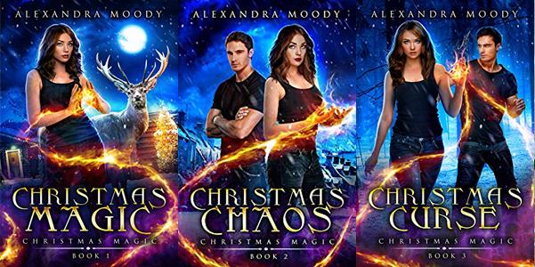 Christmas Magic series by Alexandra Moody | www.angeleya.com